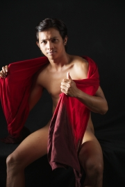 Balinese guy with red cloth 3