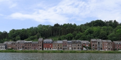 Namur - Belgium - houses along the river Meuse