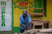 Near Thika market - carpenter