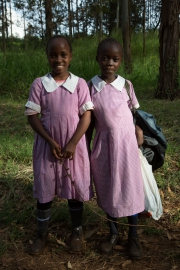 Thika - two school girls