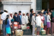 People queuing - Madagascar