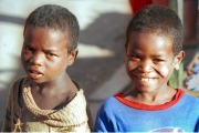 Two street boys , Madagascar