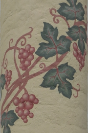 Wall painting with branch of wine, Sergiëv Possad, Russia, Sergiëv Possad, Russia