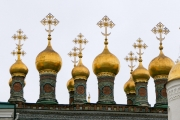 Russian orthodox church, rooftop, Kremlin, Moscow