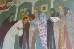 Wall painting, Sergiëv Possad
