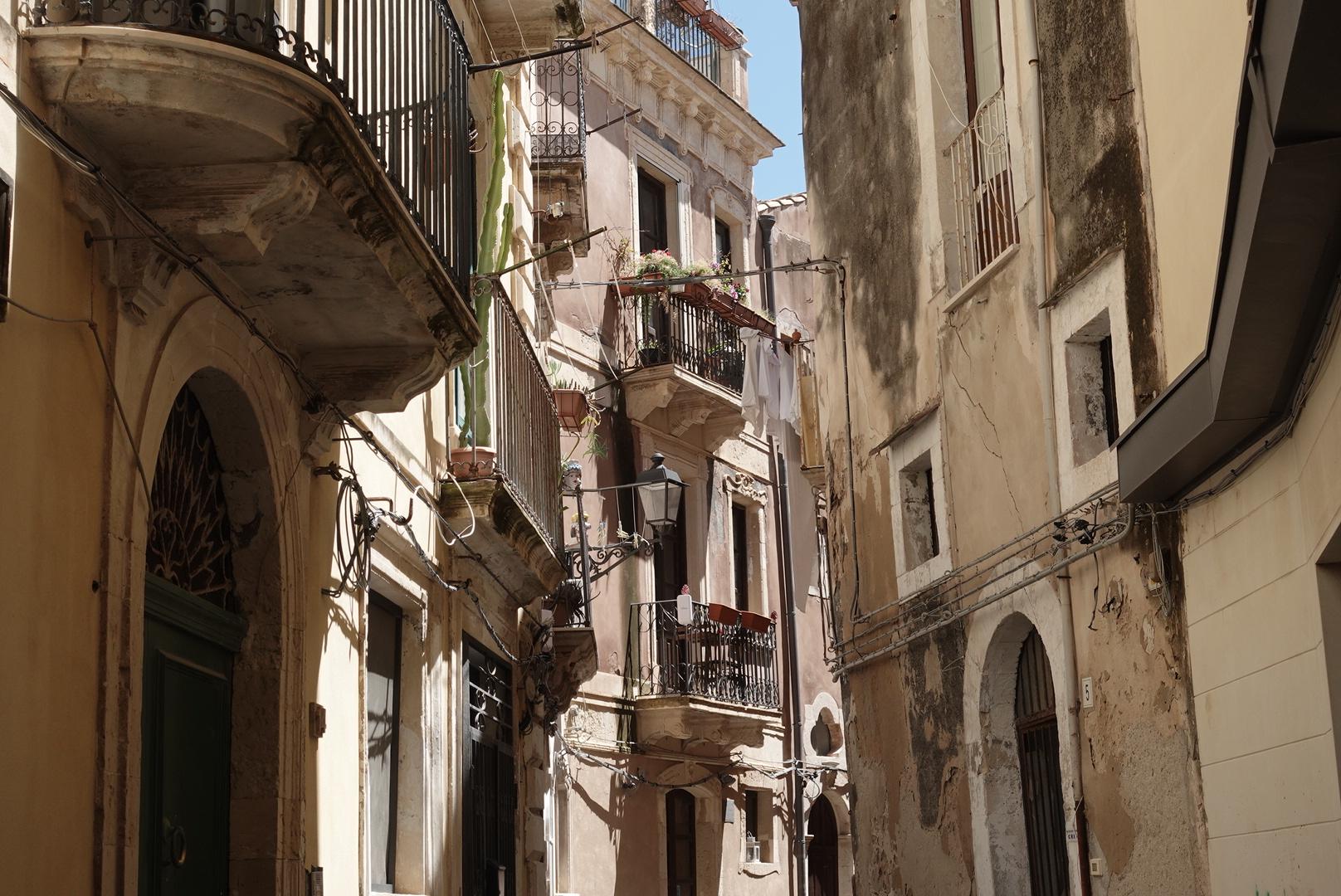 Straat in Siracuse