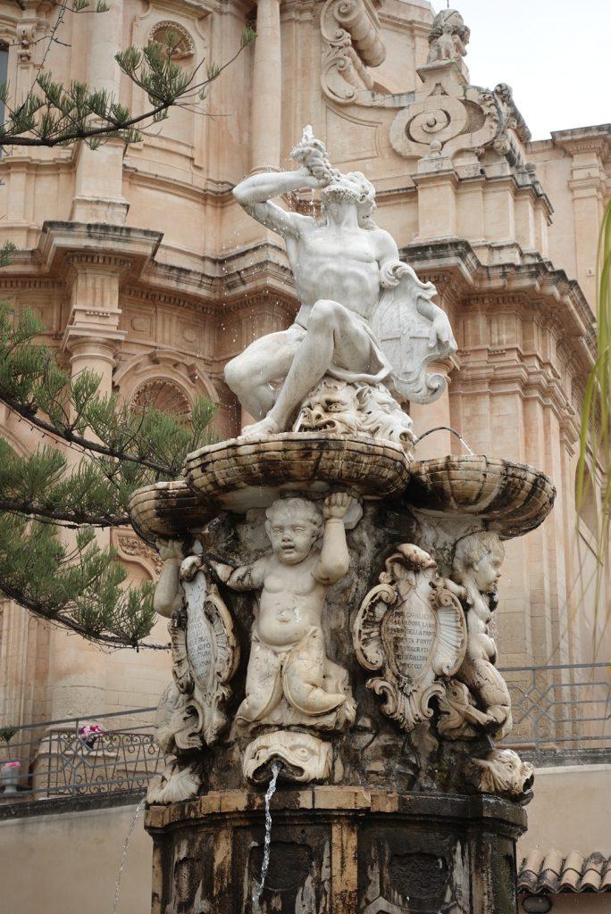 Fontana d'Ercole - Noto, Sicilië
