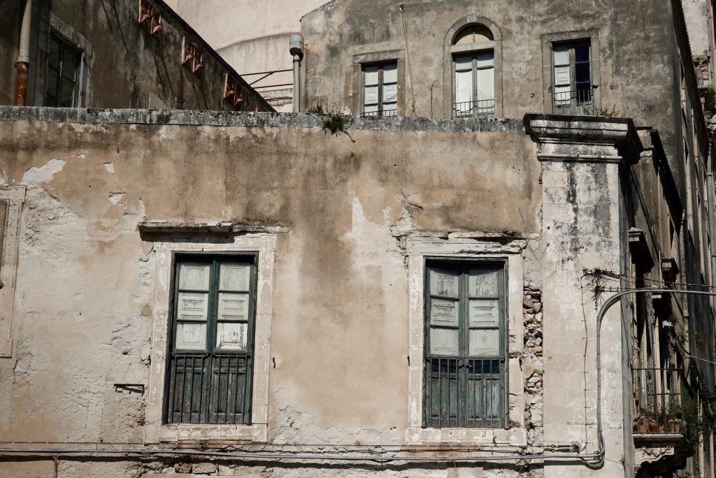 Gevel in Ortigia, Siracuse
